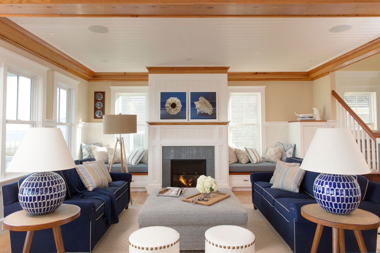 Nantucket interior design by carolyn thayer interiors on for Home interior design images