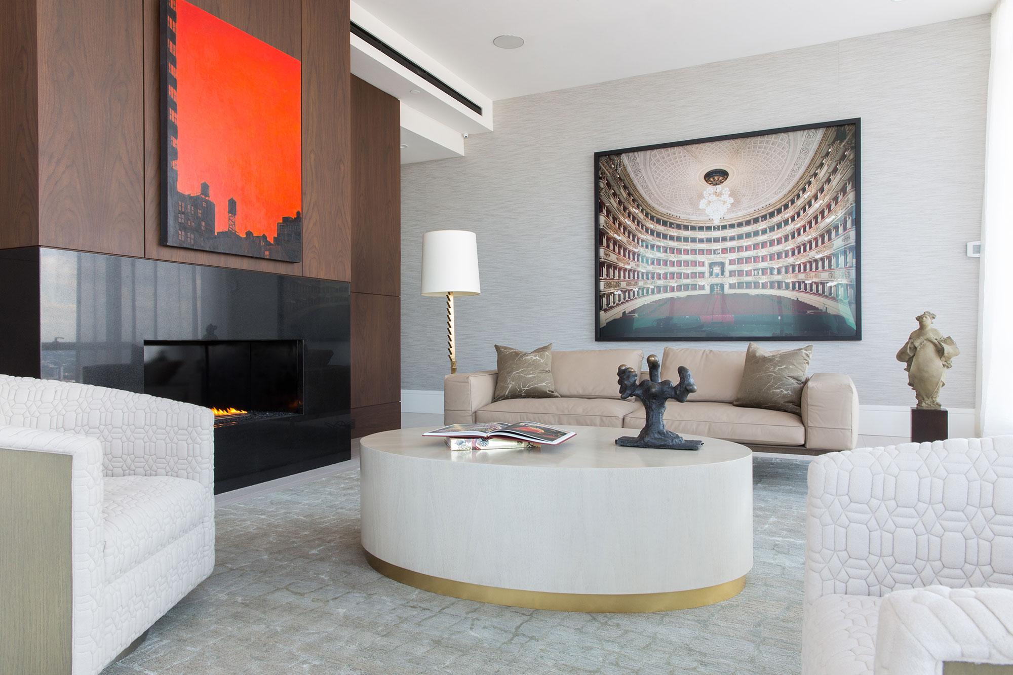 apartments luxury lofts interior watermark seaport boston pin design